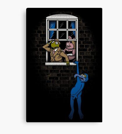 Banksy Muppets Canvas Print