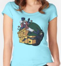 Experience Deez Nuts Women's Fitted Scoop T-Shirt