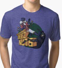 Experience Deez Nuts Tri-blend T-Shirt