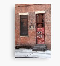 Brooklyn, New York, 126 Front Street Canvas Print