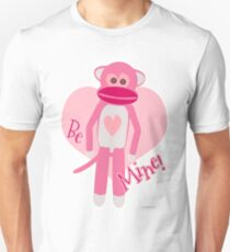 Valentine Sock Monkey T-Shirt