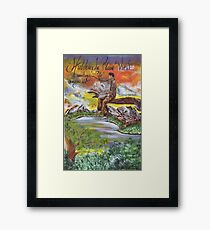 Hidden in Plain View Sometimes Life Escapes Us Framed Print