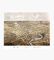 Watertown - Wisconsin - 1867 Photographic Print