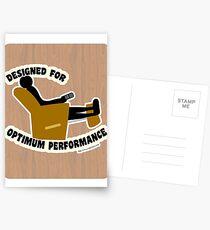 Optimum Performance Postcards