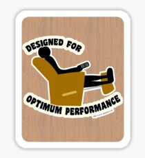 Optimum Performance Sticker