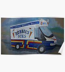 The Ice Cream Van Poster