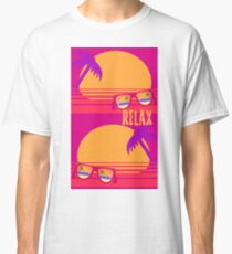 Relax at Sunset Classic T-Shirt
