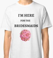 Cool Wedding T-shirts, bachelors party, best man, grooms Classic T-Shirt