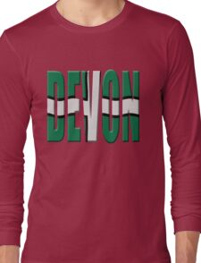 Devon flag Long Sleeve T-Shirt