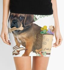 Puggle Stole Cookie From The Cookie Jar Mini Skirt