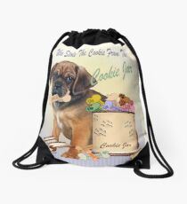 Puggle Stole Cookie From The Cookie Jar Drawstring Bag