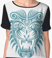 Tattoo Tiger - Year of the Tiger Chiffon Top