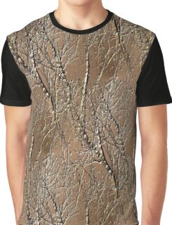 Bare Tree Branches Nature Art Design Graphic T-Shirt