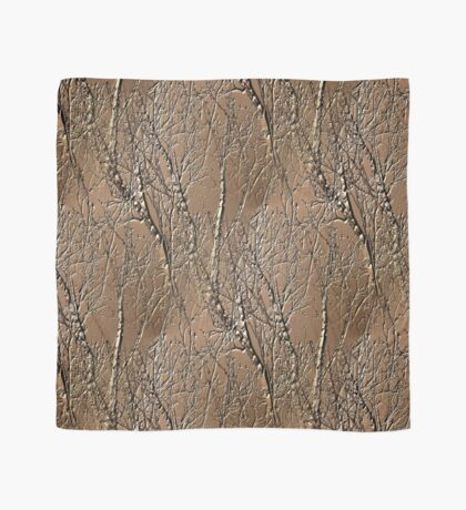 Bare Tree Branches Nature Art Design Scarf