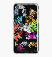 letters iPhone Case/Skin