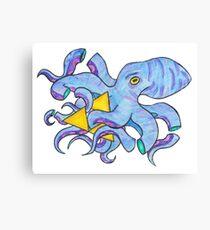 A tentacle-y encounter  Canvas Print