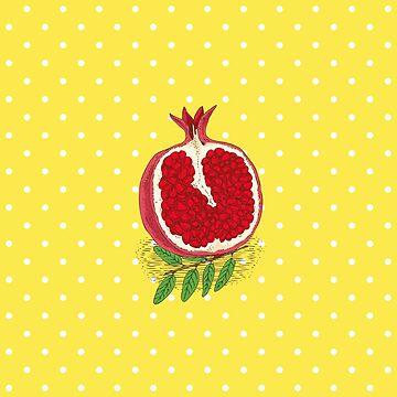 Pomegranate by deepfuze