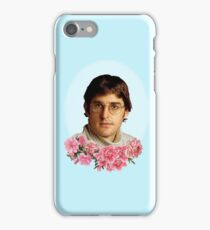 flowery louis theroux iPhone Case/Skin