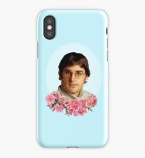 flowery louis theroux iPhone Case