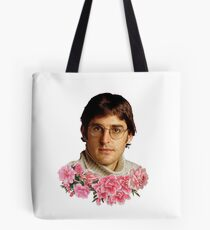 flowery louis theroux Tote Bag