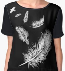 Flying High Women's Chiffon Top