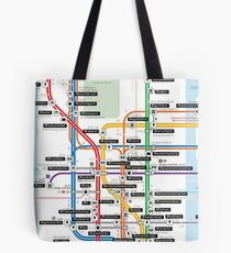 #tagsandthecity / New York Tote Bag