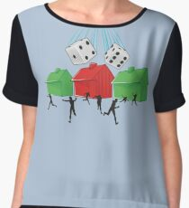 Board Game Doom Women's Chiffon Top