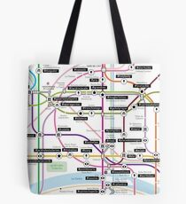 #tagsandthecity / Paris Tote Bag