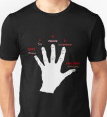 Gamer's hand Unisex T-Shirt