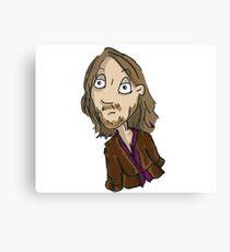 Hobo Xavier? Hippie Jesus? Canvas Print