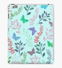 Floral and Butterfly IV iPad Case/Skin