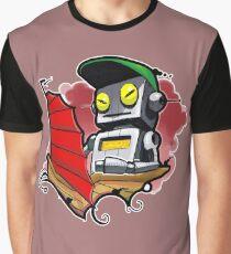 Camiseta gráfica Robotsampan