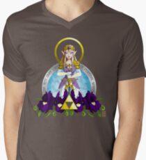 Our Lady of Wisdom Mens V-Neck T-Shirt