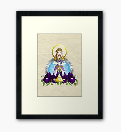 Our Lady of Wisdom Framed Print