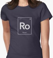 Elemental Rowing - Basic Rower Women's Fitted T-Shirt