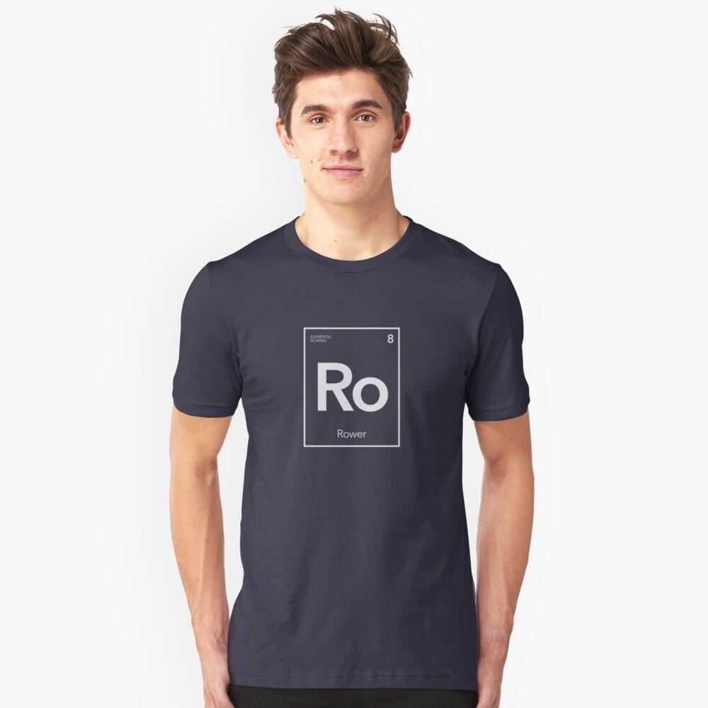 Elementarruder - Grundlegender Ruderer Slim Fit T-Shirt