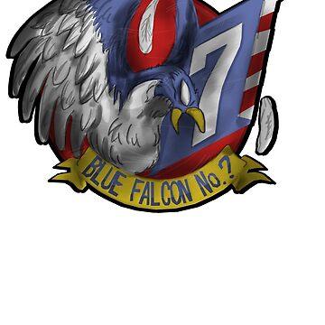 Falcon Tee (Alt) by KevinFlynn