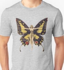 Woman Butterfly illustration T-Shirt
