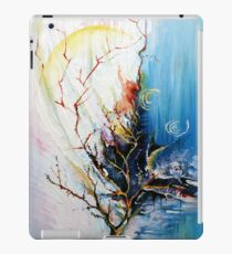 Original Landscape Tree Abstract Painting Modern Contemporary Fine Art  iPad Case/Skin