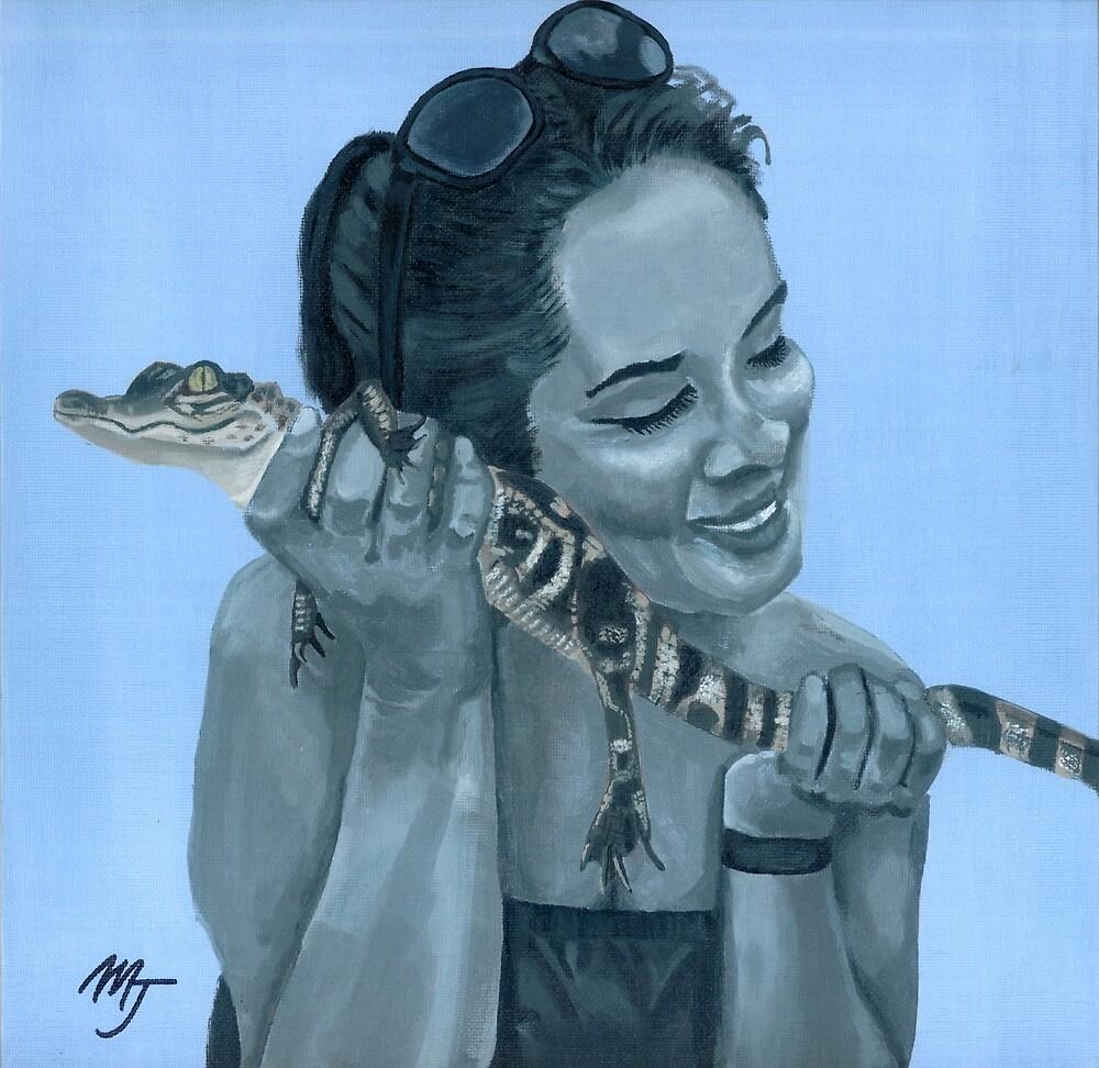 Tona's Gator by mjviajes