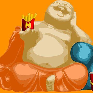 Happy Buddha von wicket1138