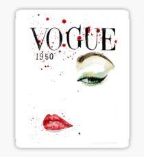 Vogue_1950 Sticker