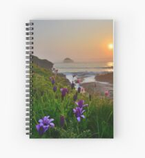 Cornwall: Spring Colours at the Strand Spiral Notebook
