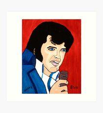 Elvis - John Wayne Gacy Art Print