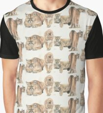 American Cougar Graphic T-Shirt