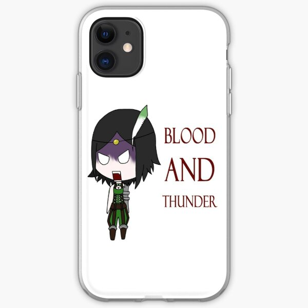 Blood and Thunder iPhone Soft Case