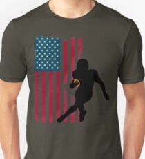 rugby football amerika usa flagge spieler team u.s. leader T-Shirt