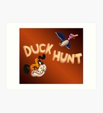 The Duck Hunt Show Art Print