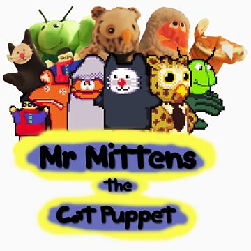 Mr Mittens the Cat Puppet V1 by SpencerEX