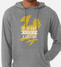 Save Gas Ride a Chocobo Lightweight Hoodie